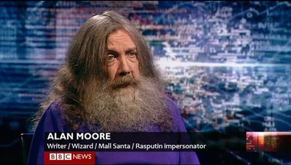 Writer, mall santa, Rasputin impersonator
